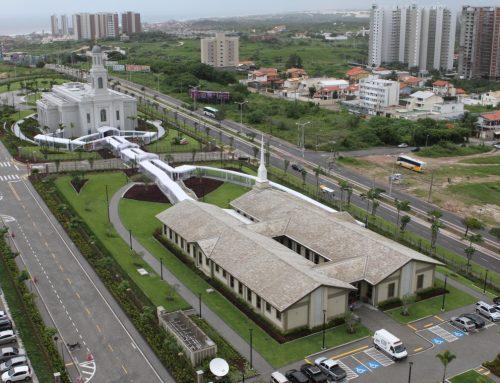 Templo mórmon em Fortaleza atrai pelo menos 2,8 mil pessoas no primeiro dia de visitação